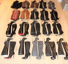 https://flic.kr/p/23H1PgG | High Heel Inventory - Rosinas Knee High Boots | Please leave comments!