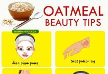 Top 10 Beauty Tips using Oatmeal