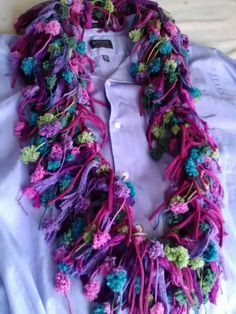 Pomp-a-Doodle and Sashay scarf affordably priced yarn at AC Moore Crochet Scarves, Crochet Yarn, Loom Knitting, Knitting Patterns, Sashay Scarf, Funky Hats, Sewing Crafts, Diy Crafts, Cute Scarfs