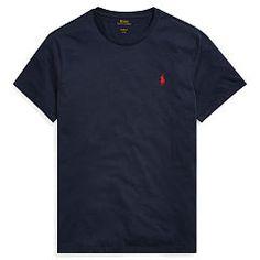 Custom-Fit Cotton T-Shirt - Polo Ralph Lauren T-Shirts - Ralph Lauren Germany