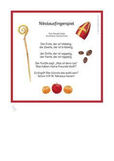 Fingerspiel Nikolaus