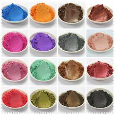 20g Healthy Natural Mineral Mica Powder DIY For Soap Dye Soap Colorant makeup Eyeshadow Soap Powder Alternative Measures