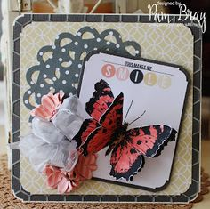 Beautiful Card by @pammejo using the @wermemorykeepers Hello Life Paper Collection