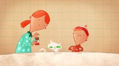 Kinder Chocolate: Invention on Vimeo Passion Pictures, Oliver Jeffers, Production Company, Inventions, Snoopy, Animation, Make It Yourself, Illustration, Artist