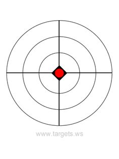 Print your own bullseye shooting targets for free. All free printable bullseye targets are available in PDF format. Paper Shooting Targets, Paper Targets, Pistol Targets, Rifle Targets, Shooting Range, Shooting Sports, Henry Rifles, Target Image, Nerf Birthday Party