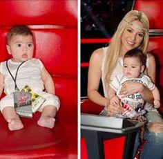 Shakira's Growing Baby Boy