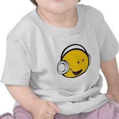2782f422b Headphones Emoji T Shirts 1st Birthday Shirts, 1st Boy Birthday, Happy  Birthday Bunny,