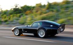 Fonds d'ecran: Superformance Shelby Daytona Cobra Coupe 2009