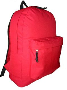 "18"" classic polyester backpack @ 2.25/pc FOB Los Angeles, Inventory available, (LM183) - United States K-Cliffs"