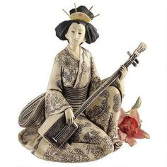 Song of the Geisha Sculpture