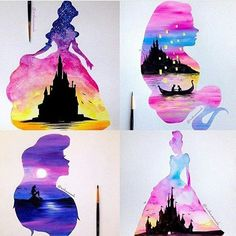 Princess Aquarell