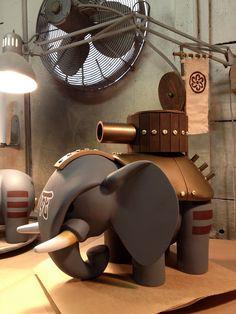 Elephant build | by huckgee