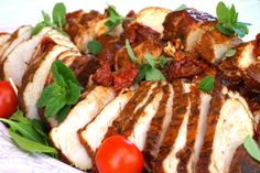 Antipasto, Caprese Salad, Baked Potato, Picnic, Food And Drink, Snacks, Meals, Chicken, Healthy
