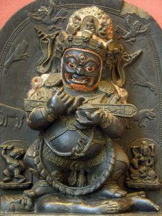 Mahakala from Tibet. Kala Ksetram