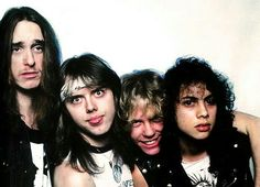 Cliff Burton/Lars Ulrich/James Hetfield/Kirk Hammett