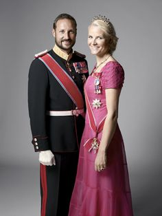 His Royal Highness Crown Prince Haakon and Her Royal Highness Crown Princess Mette Marit of Norway