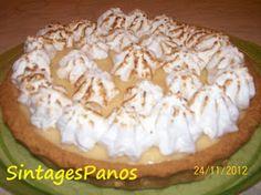 Ζαχαροπλαστική Πanos: Τάρτα λεμόνι Pie, Desserts, Blog, Torte, Tailgate Desserts, Cake, Deserts, Fruit Flan, Pies