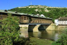 Lovech, Bulgaria - Covered Bridge over Osam River