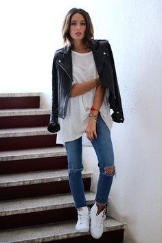 White leather: Alex's Closet : Blog mode, Blog beauté et voyage - Paris, Montréal