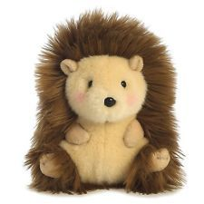 Aurora World Happy Hedgehog Rolly Pets Plush Toy