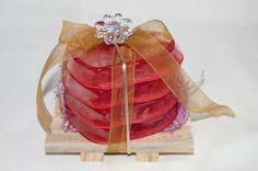 kit 4 Sabonete Artesanal coração.