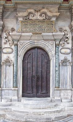 Mosque Doors from Istanbul, Turkey. Please click the 'LIKE' & 'VOTE' icon if you really like this image enough to repin it. Thanks.