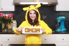 Pikachu Chocolate Roll Cake