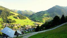 Arriving at the #Bachgut Resort, #Hinterglemm #oesterreich #austria #nachhaltigkeit #reise #travel #sustainability #ecofriendly #green #valley #greentravel