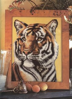 Gallery.ru / Фото #10 - Cross Stitch Collection 058 ноябрь 2000 - tymannost, Tiger