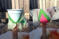 Diy: Add color to your pots