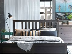Create a cozy summer cottage feeling with the HEMNES bedroom collection. - want this to complete my bedroom set!