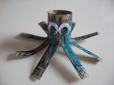 Cute octopus to make in the summer with fish and other sea creatures :D
