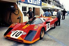 24 heures du Mans 1971 - Ferrari 512M #10 - Pilotes : Georg Loos / Franz Pech - Abandon