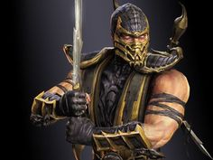 I got : Scorpion! Which Mortal Kombat Character Are You?