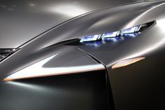 Lexus concept headlights.