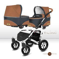 Cochecito para gemelos 2 piezas BabyActive Twinni Timber Design [TWINNI TIMBER] | 599,00€ : La tienda online para tu peke | tienda bebe pekebuba.com