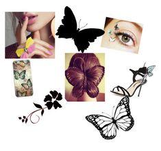 butterfly by hajimemashite-alice-desu on Polyvore featuring Sophia Webster