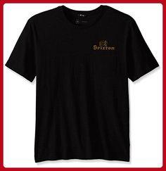Brixton Men's Tanka Ii Short Sleeve Pocket Tee, Black, Medium - Mens world (*Amazon Partner-Link)