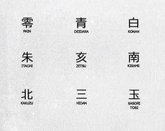 Rings from Akatsuki Ethnisches Tattoo, Kanji Tattoo, Symbol Tattoos, Itachi Uchiha, Naruto Shippuden Anime, Anime Naruto, Naruto Tattoo, Anime Tattoos, Noragami