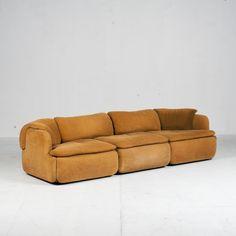 Model 'Confidential' Sofa by Alberto Rosselli for Saporiti, Italy - Modern Times