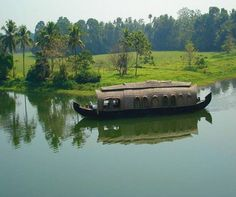 House Boats in Kerala, India