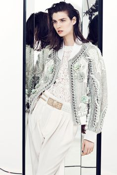 Feminine Clothing 2014 | For the Resort 2014 Collection, Balmain's Oliver Rousteing played ...