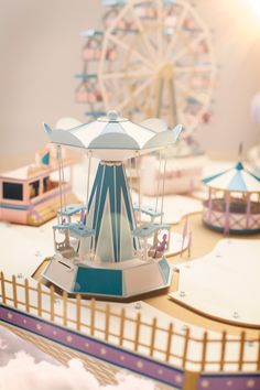 Makerie Studio and Director André Gidoin have teamed up again to create a surreal world of paper wonder, this time high in an imaginary sky. The Fantastical Fairground is a fully functional set, created from a combination of paper and found vintage toys, …