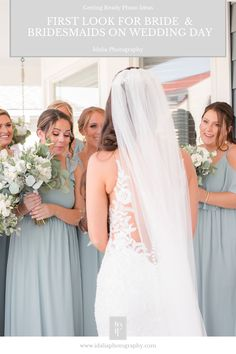 inspiration for getting ready photos on wedding day | Getting ready photo ideas from NJ wedding photographer Idalia Photography. #BridesmaidsFirstLook #NJWedding #GettingReady Bridesmaid Robes, Bridesmaids, Wedding Gallery, Wedding Photos, Wedding Attire, Wedding Gowns, Wedding Morning, Bridesmaid Getting Ready, Bridal Parties
