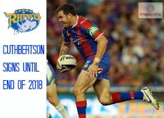 Cuthbertson signs with Leeds Rhinos: Map Sports are delighted to announce that Newcastle Knights star Adam Cuthbertson has signed with Super League powerhouses Leeds Rhinos until the end of the 2018 season. Cuthbertson, 29, is enjoying career best form for the Newcastle Knights, and after a highly successful NRL career that began back in 2006, he is looking forward to continuing to ply his trade in the United Kingdom.
