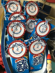 Baby Shower Ideas For Boys Themes Nautical Anchors Party Favors Trendy Ideas Baby Shower Party Favors, Boy Baby Shower Themes, Baby Shower Cakes, Baby Shower Parties, Baby Boy Shower, Baby Shower Decorations, Baby Shower Gifts, Baby Shower Invitations, Shower Centerpieces