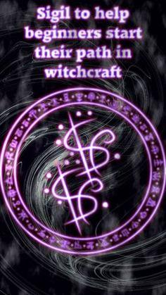 Sigil to help beginners start their path in witchcraft