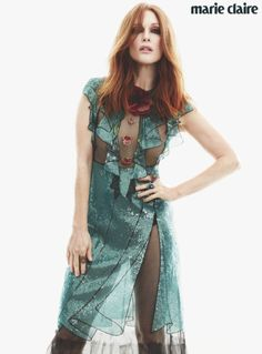 Julianne Moore Is Marie Claire's March Issue Cover Star