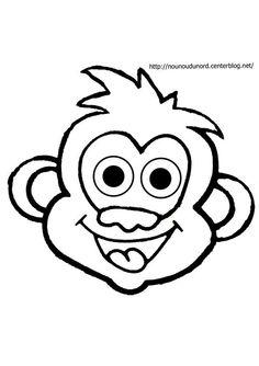 Coloriage A Imprimer Emoji Singe.65 Meilleures Images Du Tableau Singe Dessin Primate Primates Et