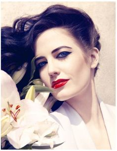My Portis Wasp says: Eva Green by Camilla Akrans for Harper's Bazaar UK |Editorial Candy